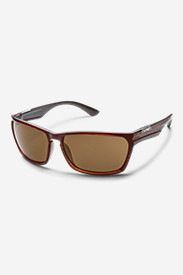 Nylon Accessories for Men: Suncloud Cutout Sunglasses - Brown