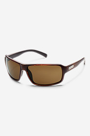 Nylon Accessories for Men: Suncloud Tailgate Sunglasses - Brown