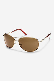 Accessories for Men: Suncloud® Aviator Sunglasses - Gold