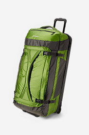 Nylon Bags: Expedition Drop Bottom Rolling Duffel - Extra Large