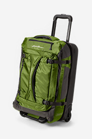 Nylon Bags: Expedition Drop Bottom Rolling Duffel - Medium