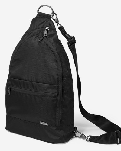 Fleece Luggage: Convertible Sling Pack