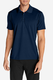 Blue Shirts for Men: Men's Resolution Short-Sleeve Polo Shirt