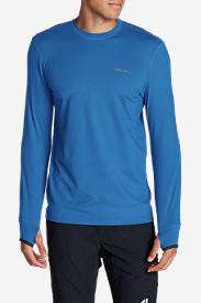 Blue T-Shirts for Men: Men's Resolution IR Crew