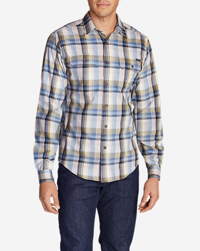 Big & Tall Shirts for Men: Men's Expedition Flannel Shirt - Spring