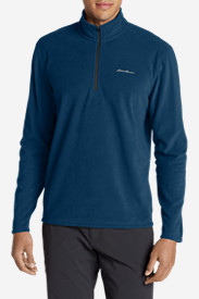Blue Jackets: Men's Quest 150 Fleece 1/4-Zip Pullover
