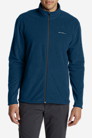Blue Jackets: Men's Quest Fleece Full-Zip Jacket