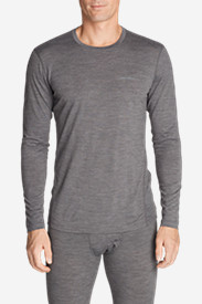 Men's Lightweight FreeDry® Merino Hybrid Baselayer Long-Sleeve Crew