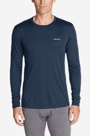 Men's Midweight FreeDry® Merino Hybrid Baselayer Long-Sleeve Crew