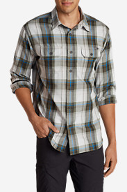 Blue Shirts for Men: Men's Eddie Bauer Expedition Flannel Shirt
