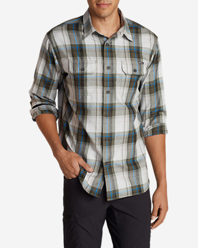 Big & Tall Shirts for Men: Men's Eddie Bauer Expedition Flannel Shirt