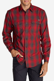 Long Sleeve Shirts for Men: Men's Eddie Bauer Expedition Flannel Shirt