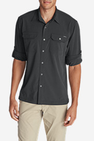 Travel Shirts for Men: Men's Departure Long-Sleeve Shirt