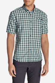 Travel Shirts for Men: Men's Transit Short-Sleeve Shirt