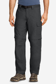 Relaxed Fit Cargo Pants for Men: Men's Exploration Convertible Pants