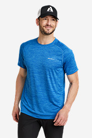 Blue T-Shirts for Men: Men's Resolution Short-Sleeve T-Shirt