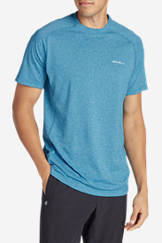 Blue Shirts for Men: Men's Resolution Short-Sleeve T-Shirt