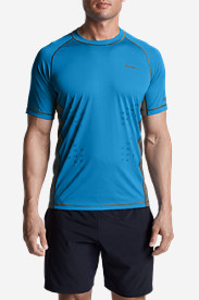 Blue Shirts for Men: Men's Quantum Short-Sleeve T-Shirt
