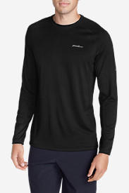 Black Shirts for Men: Men's Resolution Long-Sleeve T-Shirt