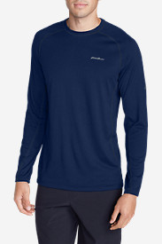 Blue T-Shirts for Men: Men's Resolution Long-Sleeve T-Shirt