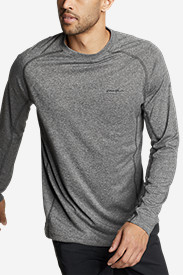 Polyester T-Shirts for Men: Men's Resolution Long-Sleeve T-Shirt