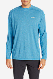 Blue Shirts for Men: Men's Resolution Long-Sleeve T-Shirt