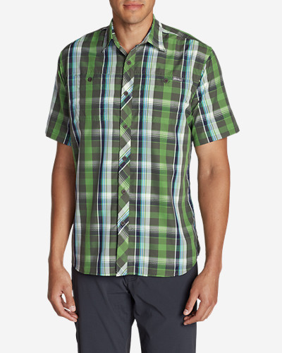 Green Shirts for Men: Men's Greenpoint Short-Sleeve Shirt
