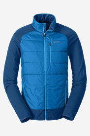 Blue Jackets: Men's IgniteLite Hybrid Jacket