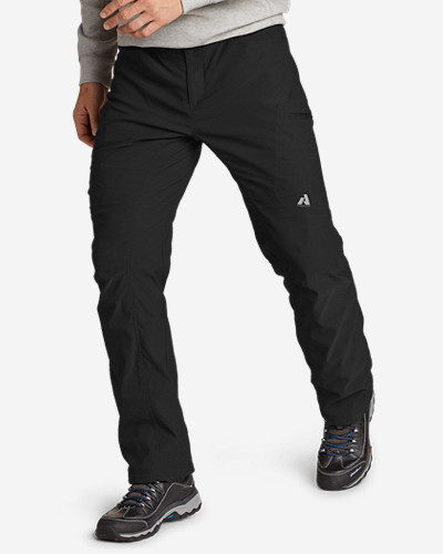 Polyester Cargo Pants for Men: Men's Lined Guide Pants