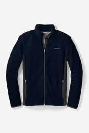Men's Quest Grid Fleece Full-Zip Jacket