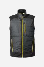 Gray Vests for Men: Men's IgniteLite Hybrid Vest