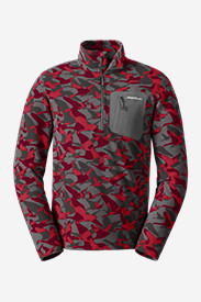 Men's Cloud Layer® 1/4-Zip - Printed