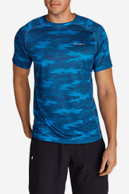 Men's Resolution Mesh T-Shirt - Print