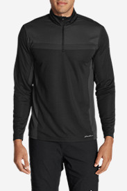 Black Shirts for Men: Men's Resolution Flux 1/4-Zip