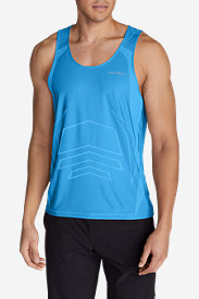 Blue Shirts for Men: Men's Resolution Pro Tank Top