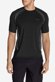 Black Shirts for Men: Men's Meridian Short-Sleeve T-Shirt