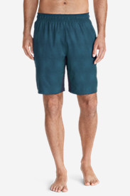 Blue Shorts for Men: Men's Meridian 9' Shorts - Pattern