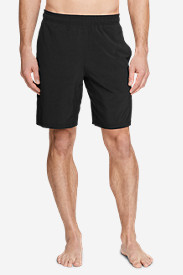 Black Shorts for Men: Men's Meridian Pro 9' Shorts w/ Compression Liner