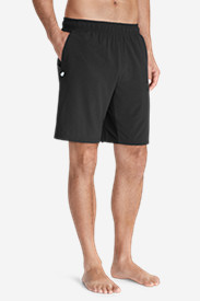 Black Shorts for Men: Men's Meridian 9' Shorts - Solid