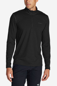 Black Shirts for Men: Men's Resolution IR 1/4-Zip