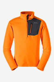 Orange Jackets for Men: Men's Cloud Layer Pro 1/4-Zip Pullover
