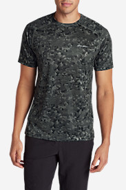 Polyester T-Shirts for Men: Men's Resolution Short-Sleeve T-Shirt - Print