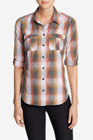 Women's Mountain Textured Long-Sleeve Shirt