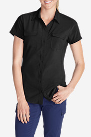 Petite Tops for Women: Women's Departure Short-Sleeve Shirt