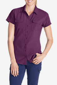 Purple Tees for Women: Women's Departure Short-Sleeve Shirt