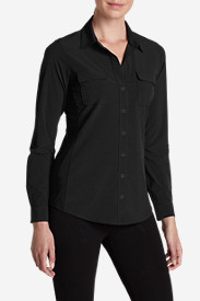 Petite Tops for Women: Women's Departure Long-Sleeve Shirt