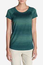 Green Tops for Women: Women's Static Top