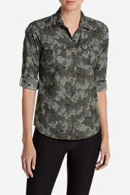 Women's Mountain Long-Sleeve Shirt - Print