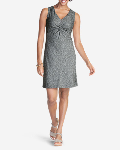 Petite Dresses for Women: Women's Aster Tie The Knot Dress - Space Dye