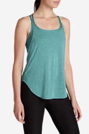 Women's Resolution Burnout Double Up Tank Top